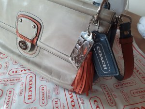 Coach Carry Bag multicolored leather