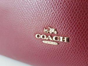 Coach Sac à main bordeau