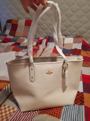 Coach Shopper multicolored leather