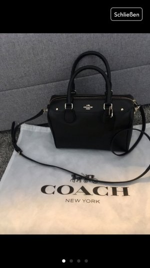 Coach Tasche shopper schwarz Silber clutch bag New York neu Blogger Fashion