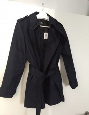 Coach trench Coat Navy Blau