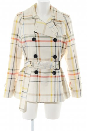 Coach Trenchcoat Karomuster Casual-Look