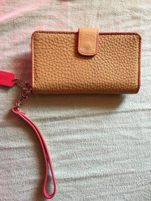 Coach wallet beige Pink