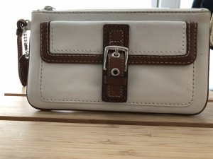 Coach Mobile Phone Case white-brown leather