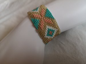 Coachella Beads ☮  Indian Fantasy Native Zuni Boho Hippie Perlenarmband