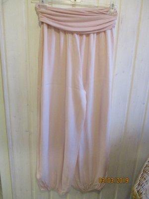 Pantalón estilo Harem rosa-nude Algodón