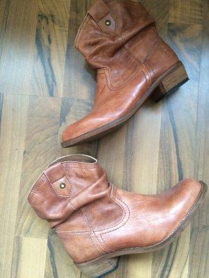 Coachella Style Cowboy Boots in Echtleder