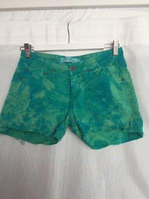 Coachella Style Hippi Batik Jeans Shorts
