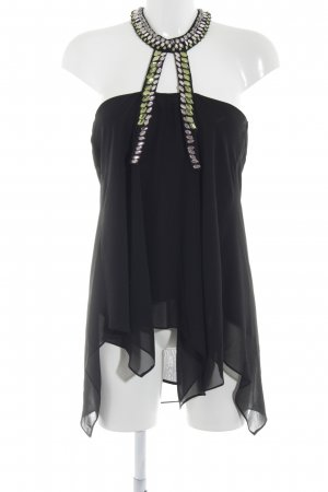 Coast A-Linien Top abstrakter Druck Party-Look