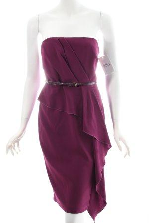 Coast Abendkleid purpur klassischer Stil