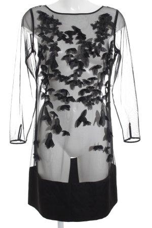 Coast Abendkleid schwarz Blumenmuster Elegant