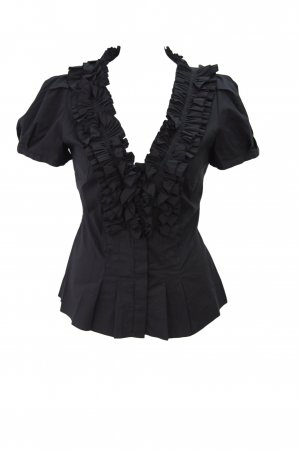Coast Bluse in Schwarz