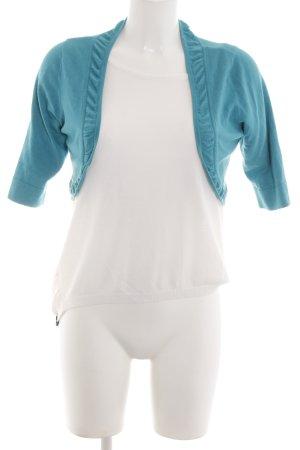 Coast Bolero white-turquoise casual look