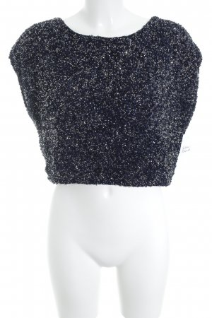 Coast Cropped Top dunkelblau Elegant
