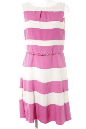 Coast Etuikleid hellbeige-pink Streifenmuster Casual-Look