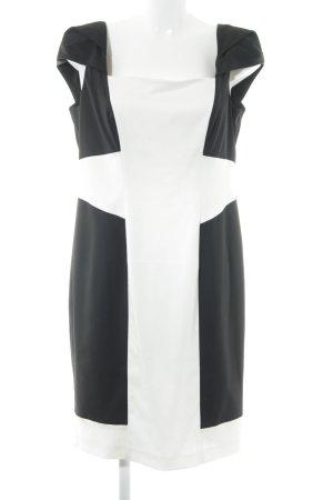 Coast Etuikleid weiß-schwarz Elegant