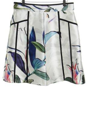 Coast Falda de talle alto estampado floral elegante