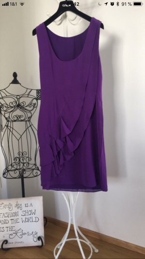 Coast Fringed Dress lilac