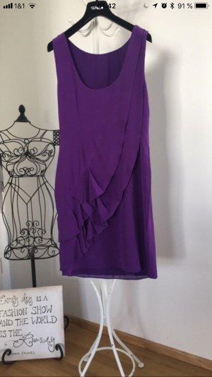Coast Fringed Dress lilac