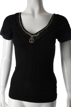 Coast Strickshirt schwarz schlichter Stil