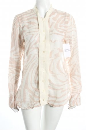 Coast Weber & Ahaus Transparenz-Bluse altrosa-creme Animalmuster Casual-Look