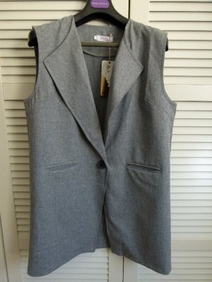 Coat Weste grau neu Größe L