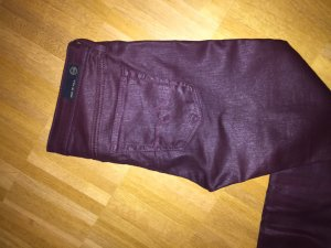 Adriano Goldschmied Jeggings purple cotton
