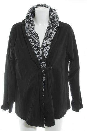 Cobra Jersey blazer zwart casual uitstraling
