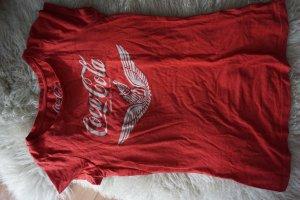 Coca Cola Retro T-Shirt Logoshirt