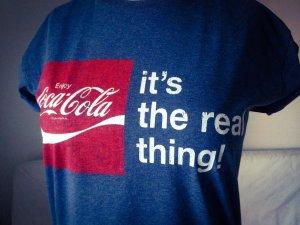 Coca-Cola T-Shirt neu Gr. S 36 original