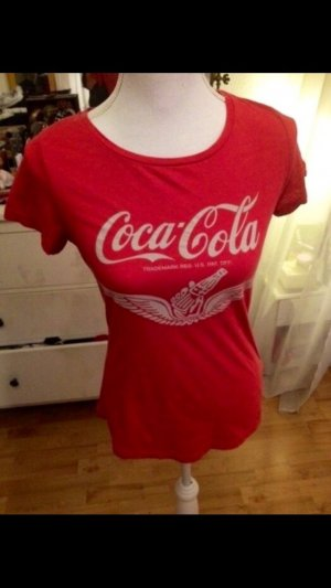 Vintage Camiseta estampada rojo-blanco