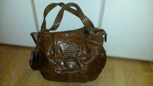 Coccinelle Carry Bag cognac-coloured leather