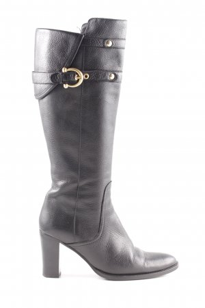 Coccinelle Heel Boots black business style