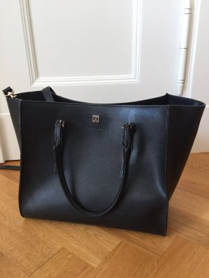 Coccinelle Shopper black leather
