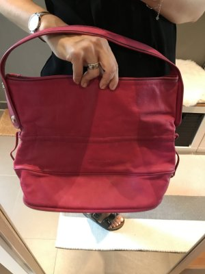 Coccinelle Sac seau rouge framboise
