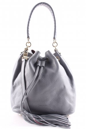 "Coccinelle Borsellino ""Leonie Bucket Bag Asphalt/Merlot"""
