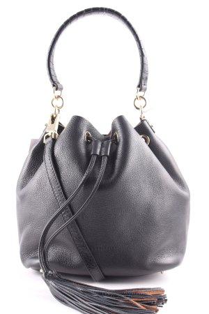 """Coccinelle Borsellino """"Leonie Bucket Bag Nero/Cuoio"""""""