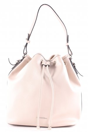 """Coccinelle Borsellino """"Mel Saffiano Bucket Bag Seashell"""" beige chiaro"""