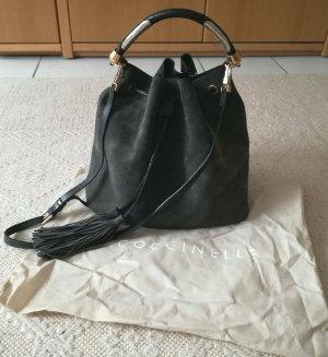 Coccinelle Bucket Bag Wildleder