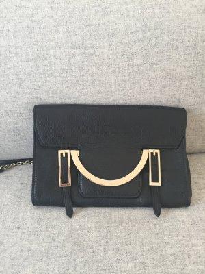 Coccinelle Celeste Handtasche Clutch schwarz aus Leder
