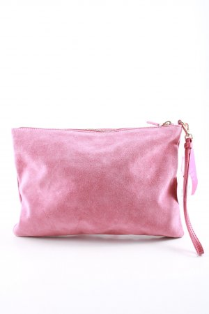 Coccinelle Clutch pink casual look