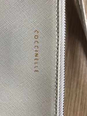 Coccinelle Clutch light grey