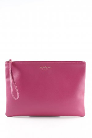 Coccinelle Clutch magenta casual look