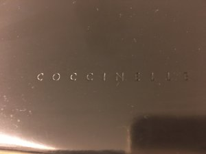 Coccinelle clutch - schwarz für den Abend