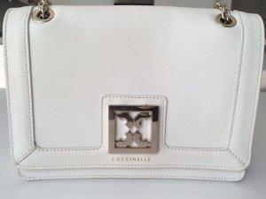 Coccinelle cremige Handtasche