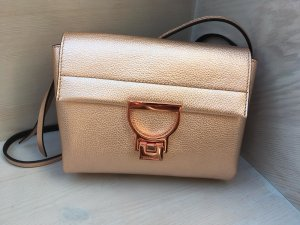 Coccinelle Carry Bag rose-gold-coloured-gold-colored leather