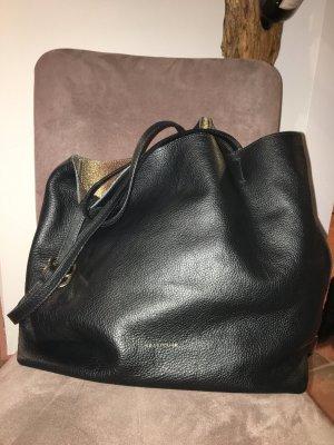 Coccinelle Davon Convertible Shopping Bag Noir/Oro