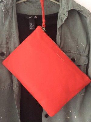 Coccinelle designertasche orange