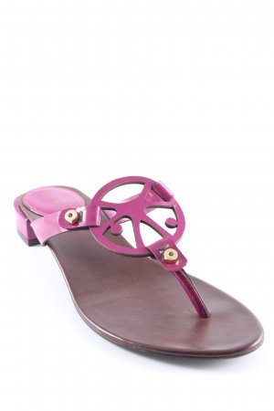 Coccinelle Flip Flop Sandalen violett Casual-Look