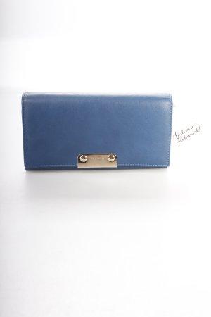 Coccinelle Geldbörse stahlblau klassischer Stil